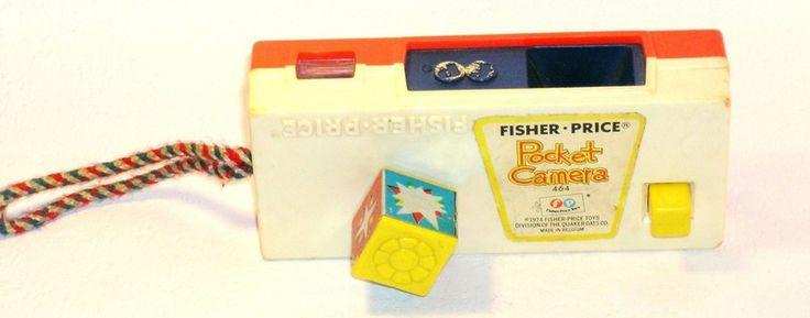 Caméra de poche Fisher Price  de Chez Zezette sur DaWanda.com