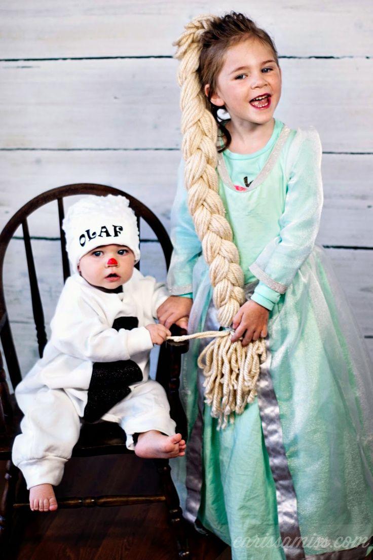 Carissa Miss: Easy Frozen Halloween Costumes