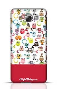 Cats Samsung Galaxy E7 Phone Case