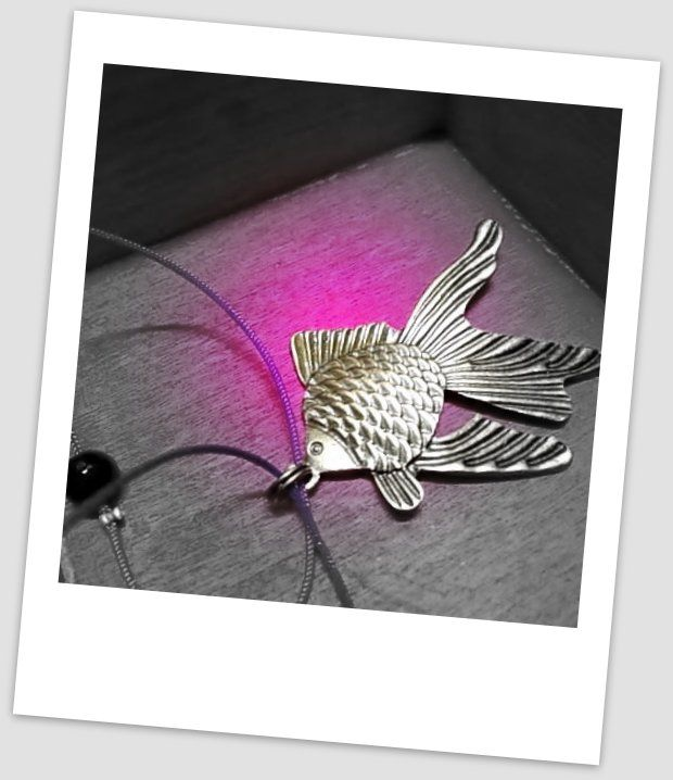 Fish pendant...love summer