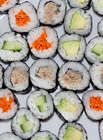 Sushi is a healthy and easy to make dish. This sushi recipe along with my easy to make sushi rice recipe could become a lovely party food appetizer or a healthy addition for your kids' party food. Cooking with kids this sushi rolls will be fun and very easy as this is a sushi recipe for beginners.