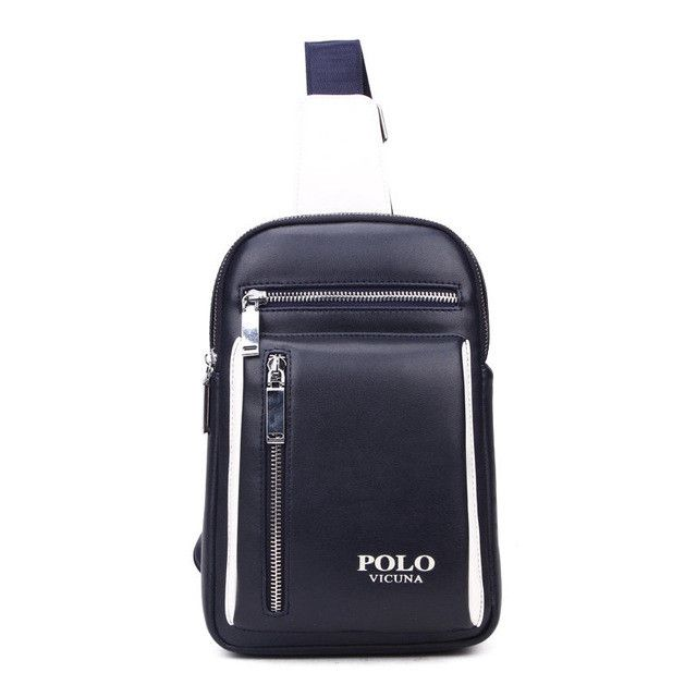 PU Leather Travel Chest Bag