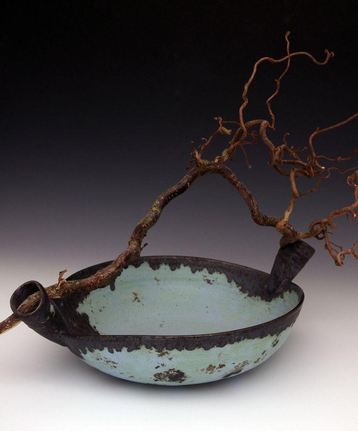 Magda Bethani Ceramics - Bowl with branch