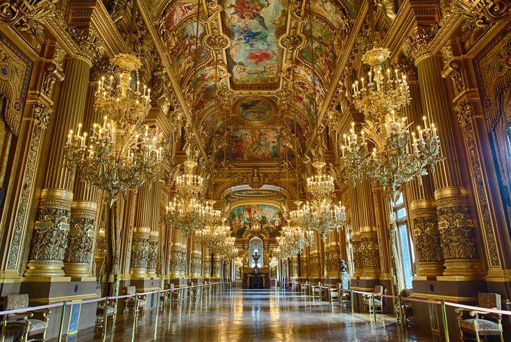 Opera de Paris Golden Hall