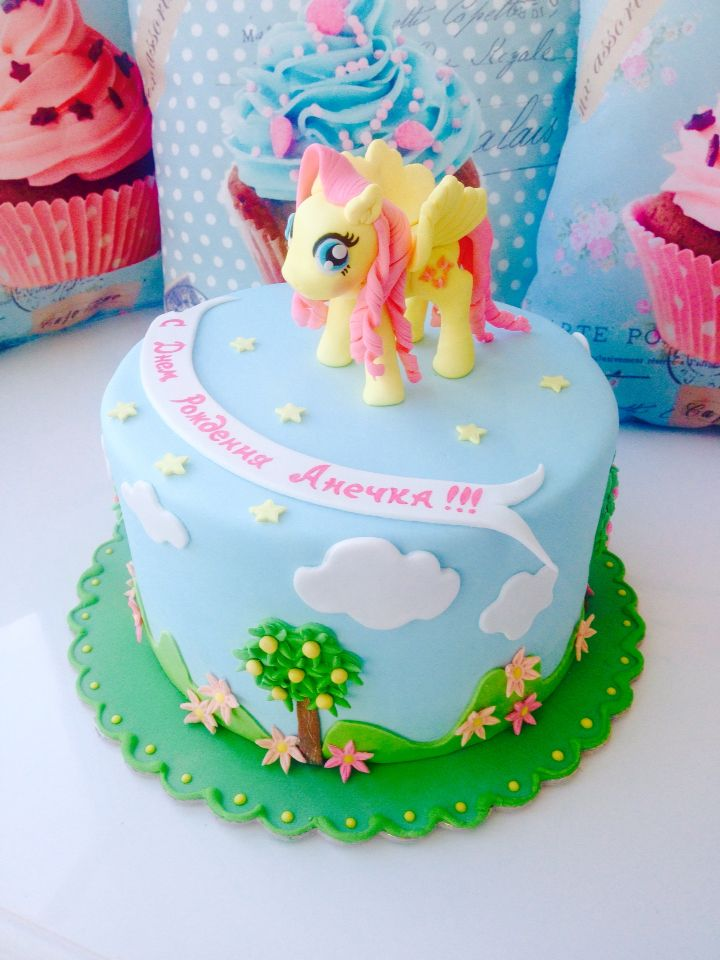 "Cake ""my little pony Fluttershy"""