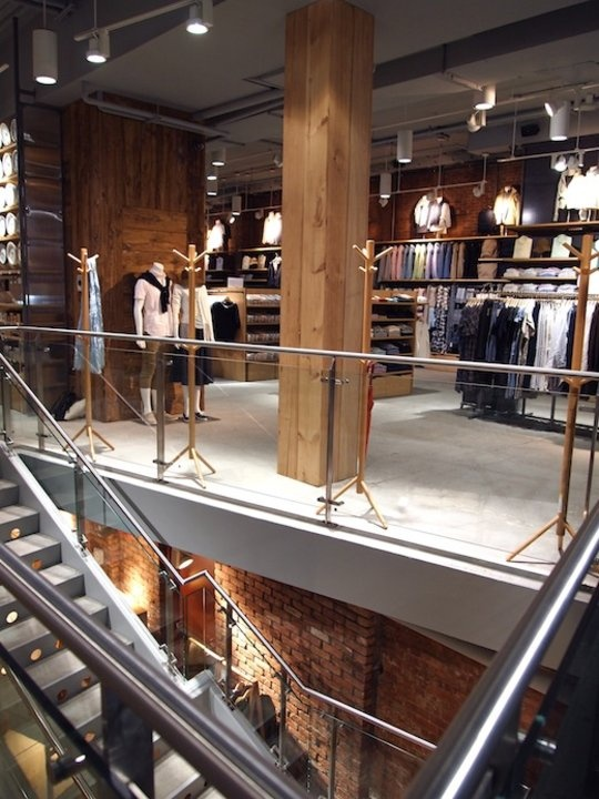 muji store at cooper square nyc image from