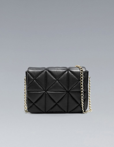Zara Mini Quilted Shoulder Bag 110