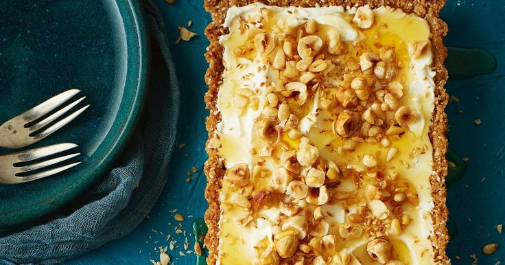 Whether it's for morning tea or dessert, this decadent nutty tart will win everyone over.