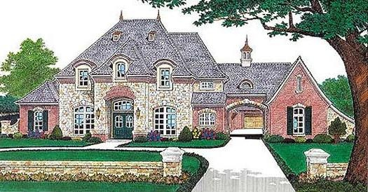 122 best houses images on pinterest dream houses future for French country house plans with porte cochere