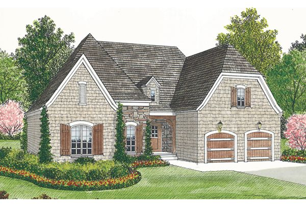 This 1.5 story Cottage features 1400 sq feet. Call us at 866-214-2242 to talk to a House Plan Specialist about your future dream home!