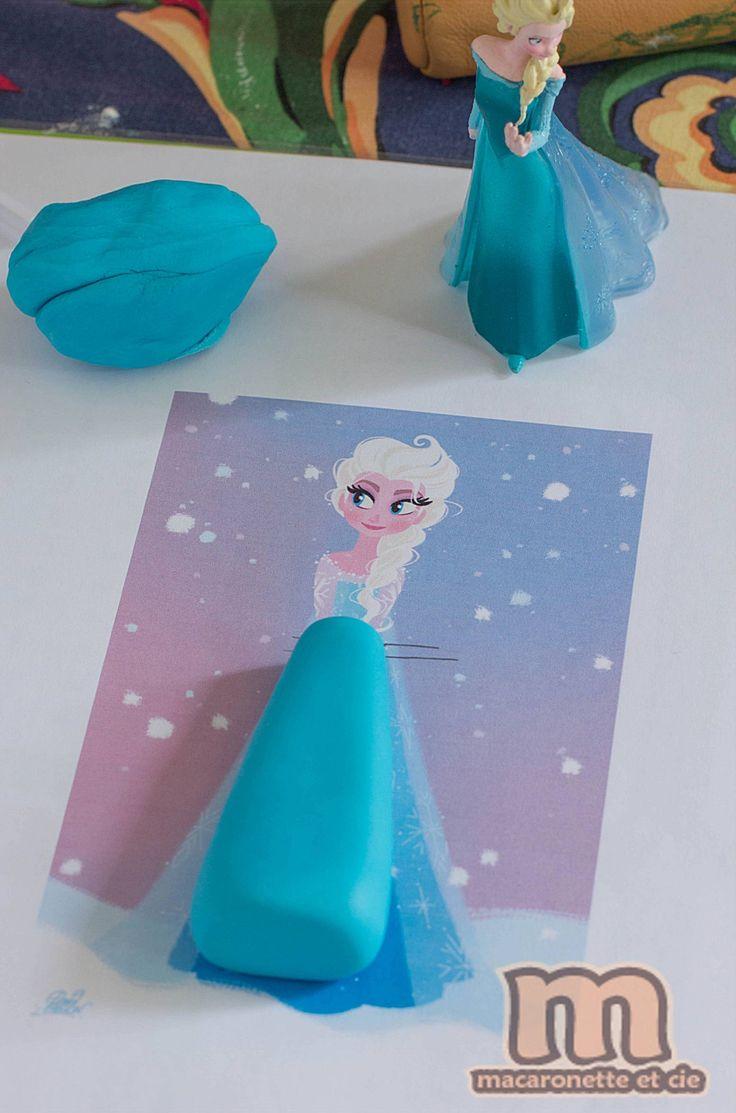 Template pour r aliser la reine des neiges en p te sucre for Bureau reine des neiges
