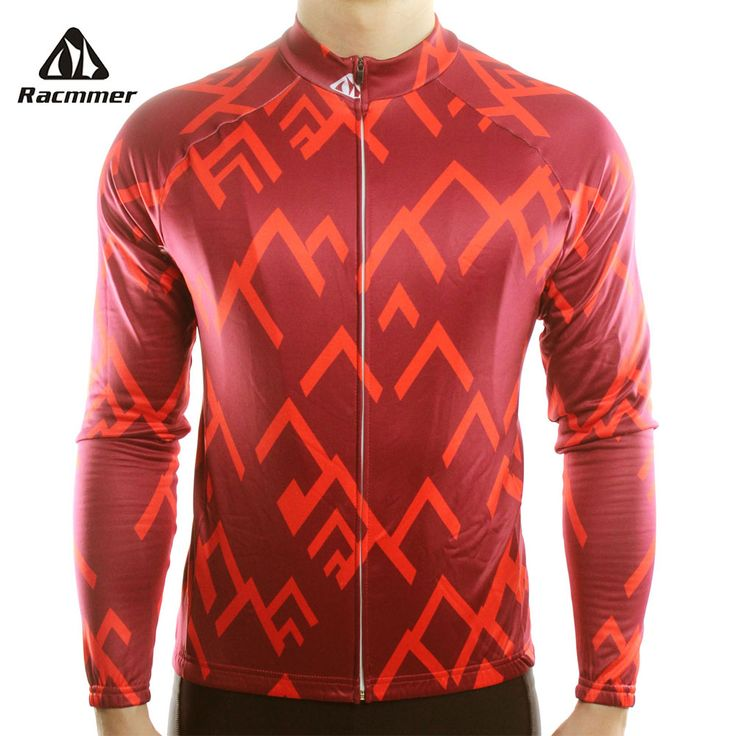 Racmmer 2017 Long Sleeve Pro Cycling Jerseys Men Mtb Clothing Bicycle Maillot Equipacion Ciclismo Sportwear Bike Clothes #CX-15 #Affiliate