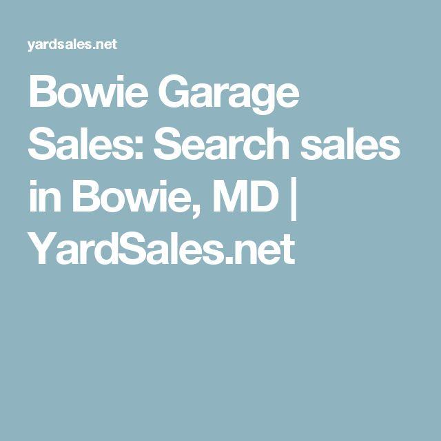 Bowie Garage Sales: Search sales in Bowie, MD  | YardSales.net