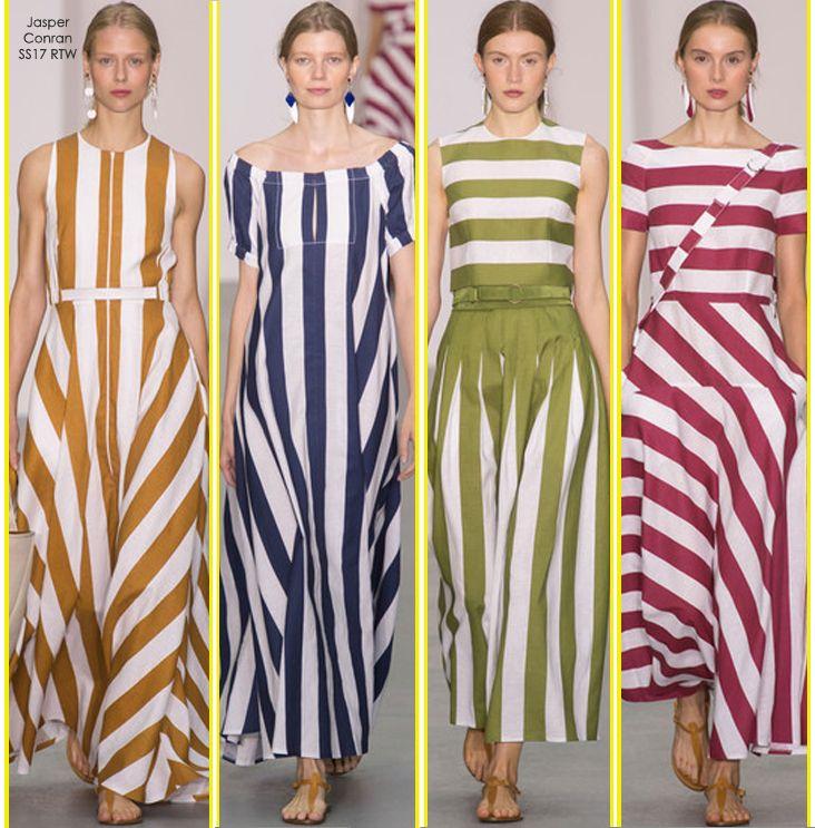 SS17 Trend Watch – Feminine Stripes «  Fashion Blog