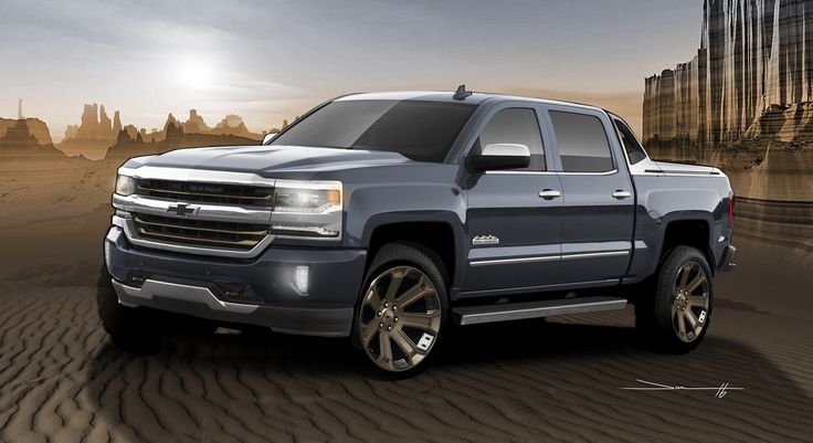 2017 Silverado High Desert package