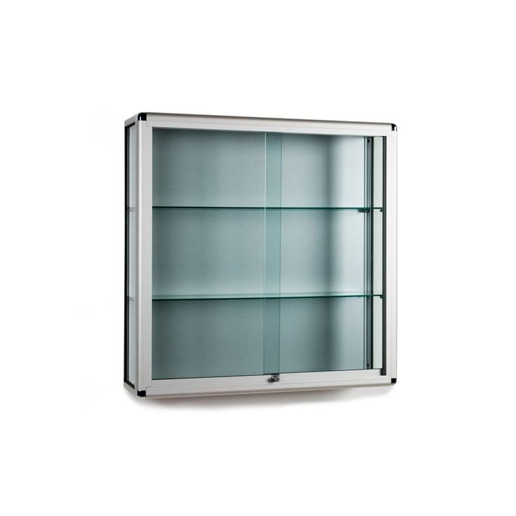 New Small Glass Wall Cabinet
