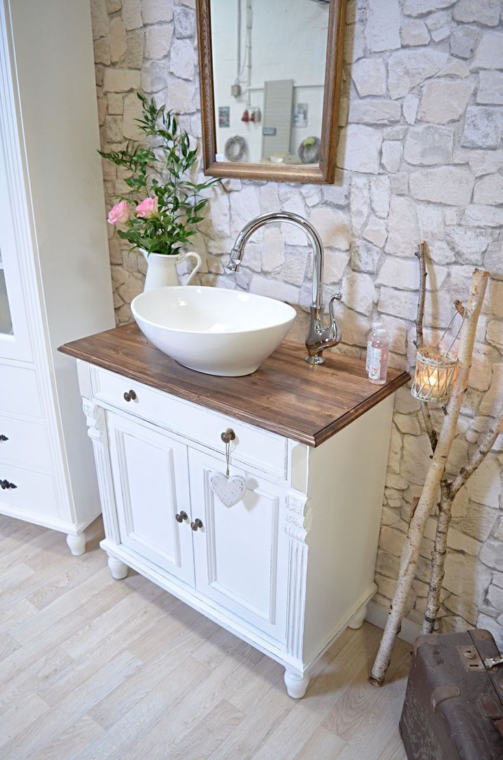 Mittlere Landhaus Waschtische Badmobel Landhaus Badezimmer