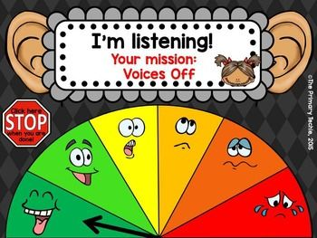 Noise-Level-Monitoring-System-for-use-on-your-Smartboard-or-Projector-1680805 Teaching Resources - TeachersPayTeachers.com
