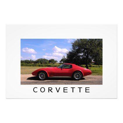 1975 Corvette Stingray Photo - photo gifts cyo photos personalize