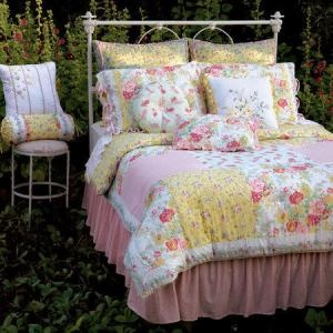 17 best images about bedspreads on pinterest periwinkle - Pink and yellow comforter ...