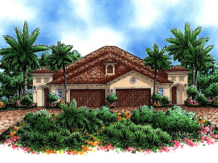 17 Best Images About Multi Family House Plans On Pinterest
