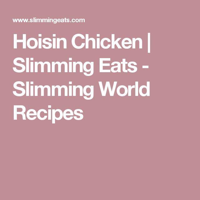 Hoisin Chicken | Slimming Eats - Slimming World Recipes