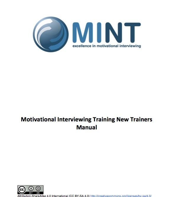Motivational Interviewing Training New Trainers Manual