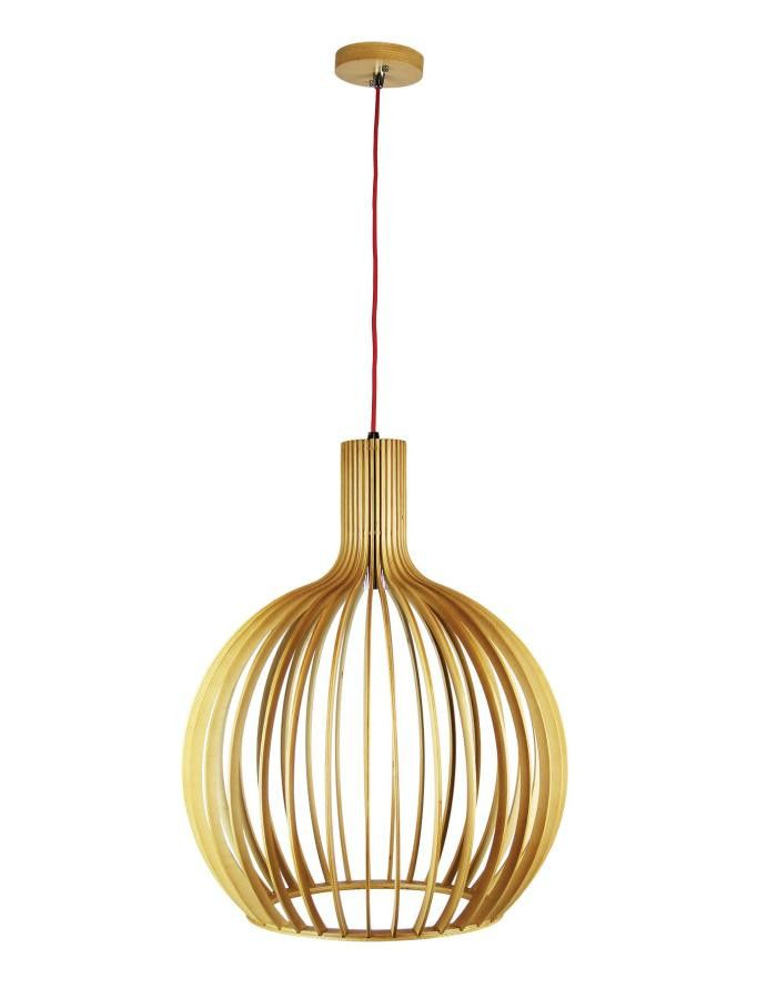 Sven Timber Pendant Light Large - Chic Chandeliers