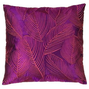 Palm Leaf Cushion 43x43