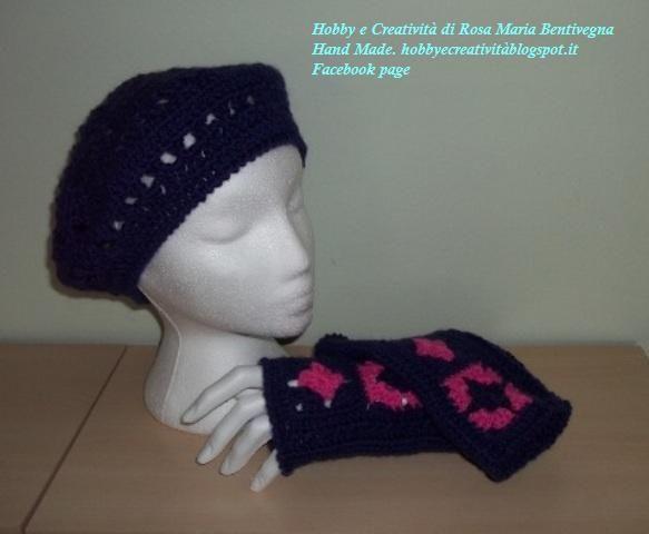 :)  Parure guanti e cappello
