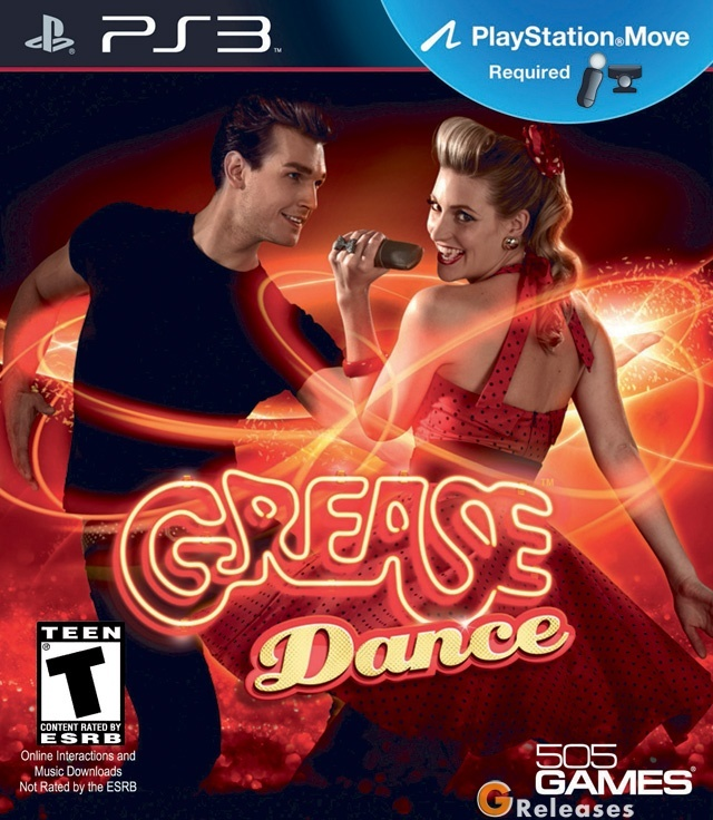 Grease Dance game for the PS3.