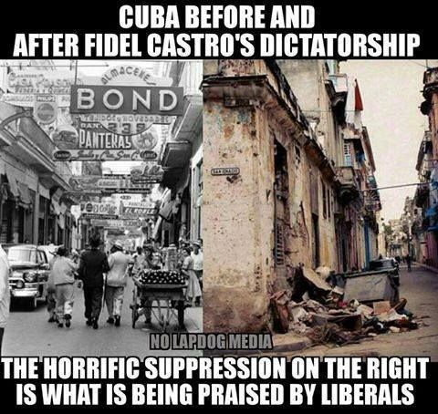 How can people be that stupid, especially when Cuban citizens risk their lives to flee from Cuba.