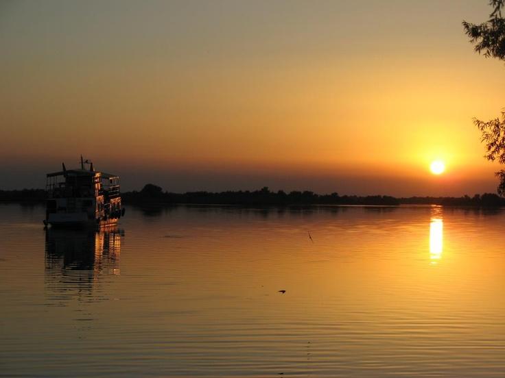 Danube Delta sunrise!