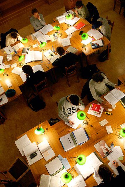 study. study group. study library