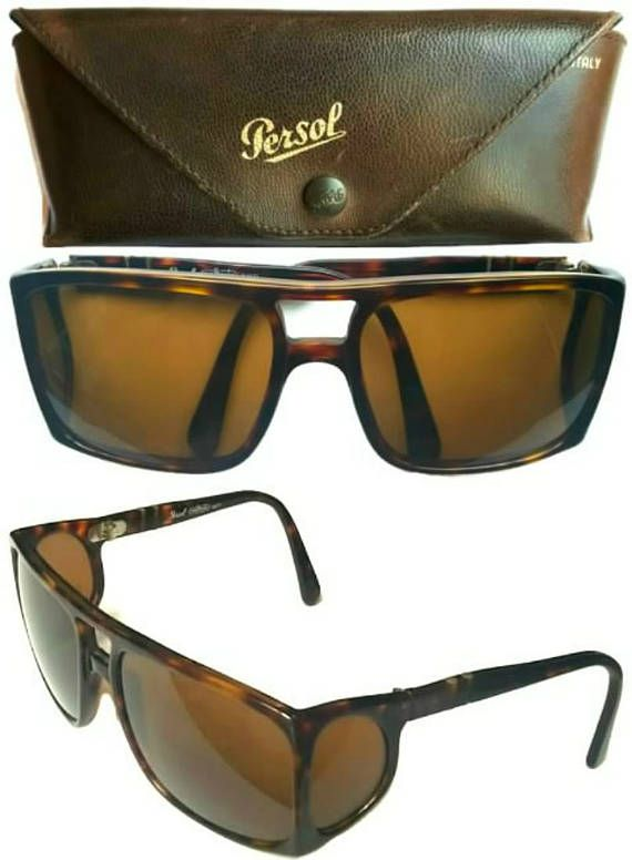 Persol Ratti Meflecto 003 Side Shields Sunglasses Tortoise
