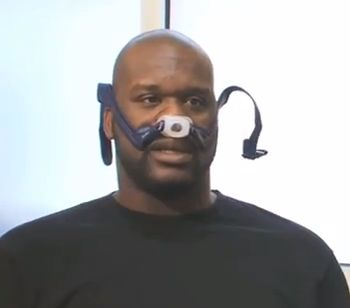 Shaq with a CPAP, and 11 other celebs with sleep apnea (not necessarily audiology, but for my ENT cohorts!)
