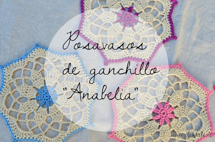 17 best images about punto y ganchillo on pinterest - Posavasos de ganchillo ...
