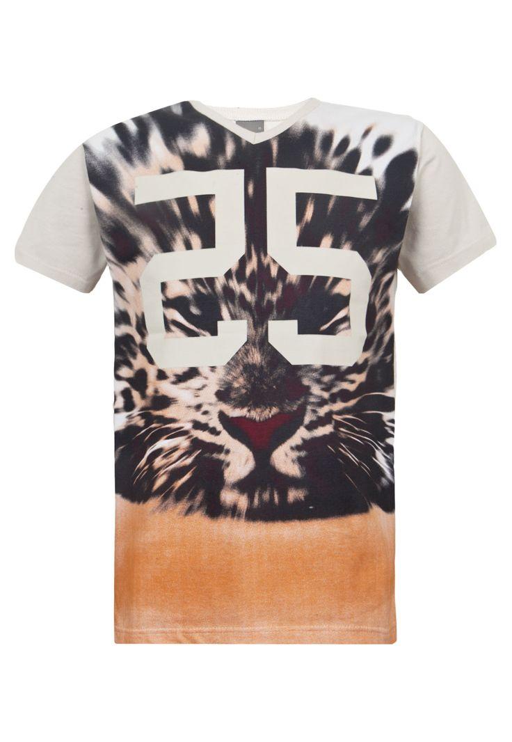Camiseta Malwee Infantil Print Bege - Compre Agora | Dafiti Brasil