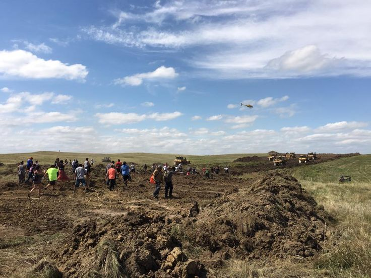 Breaking News Standing Rock Sioux Tribe condemns destruction and desecration of…