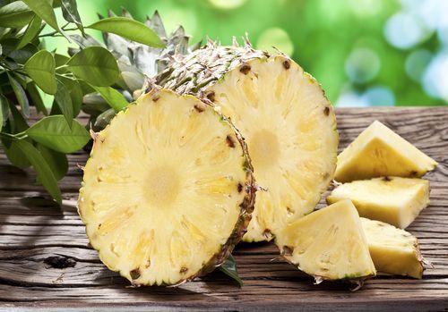 Ananas brání srážení krve