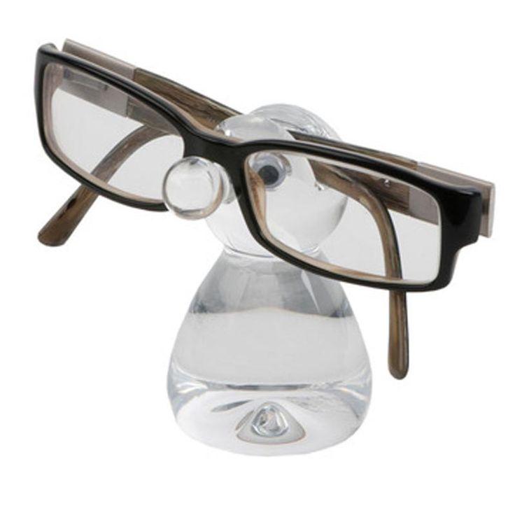Soporte gafas transparente