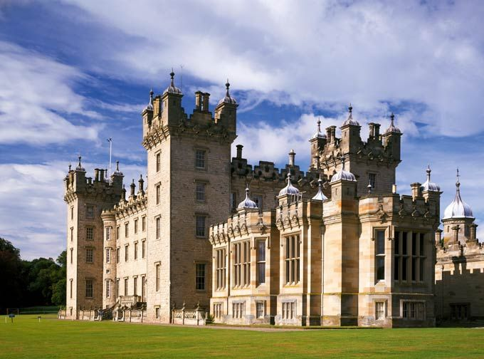 To the south in the Borders, Floors Castle stands proud as the glorious seat of the mighty Dukes of Roxburghe. Today this progressive estate...