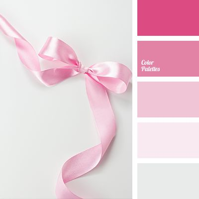 """baby pink"" color, bright pink, color palette, color solution, dark pink, gray, light pink, lilac, magenta pink, pale gray, pale pink, selection of colors, shades of pink."