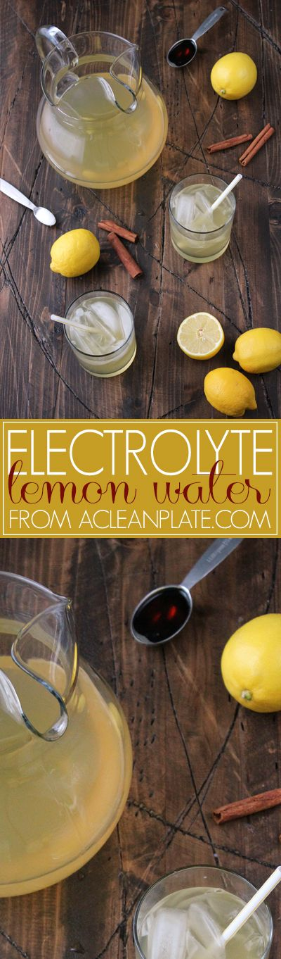 Electrolyte Water recipe from A Clean Plate