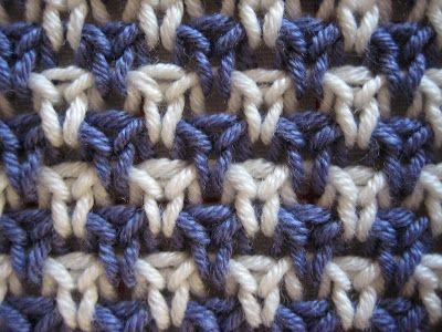 "...Rose Fabric by Anonyknits...Barbara Walker ""Learn to Knit Afghans"""