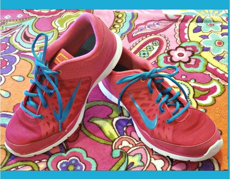 ~ NIKE Training Flex Athletic Shoes ~ Womens Size 10 ~. Fashion meets function in pretty pink with blue accents & shoe laces. ~ Shoes are in very good gently (and seldomly) worn condition, look almost NEW! | eBay!