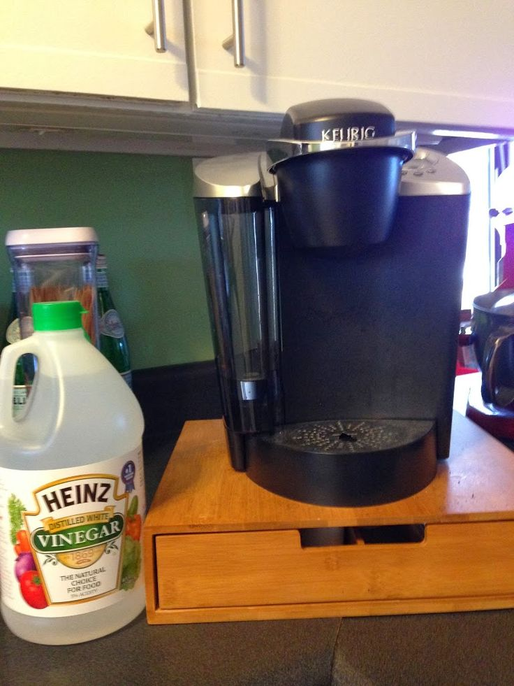 Keurig Coffee Maker Maintenance Manual : How To Clean Your Keurig - Chits and Giggles Young Living oils Pinterest Do do, The o jays ...
