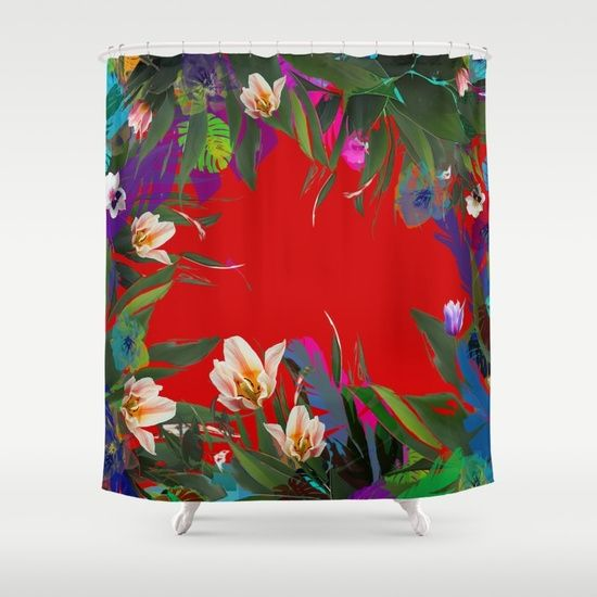 Flower carpet(61) Shower Curtain