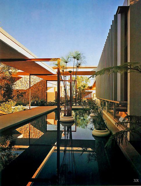1963, mariner's medical arts building - richard neutra. Repinned by Secret Design Studio, Melbourne. www.secretdesignstudio.com