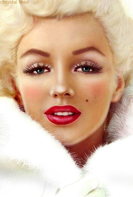 Miss Monroe by *xOxChrystalxOx on deviantART || This image first pinned to Marilyn Monroe Art board, here: http://pinterest.com/fairbanksgrafix/marilyn-monroe-art/ ||